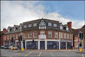 2,845 SF High Street Shop for Rent  |  Saddlers Court, Solihull, B91 3DX