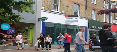 1,701 SF High Street Shop for Rent  |  61 Clarence Street, Kingston upon Thames, KT1 1RB