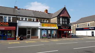 606 SF High Street Shop for Rent  |  5 Albany Road, Cardiff, CF24 3HL
