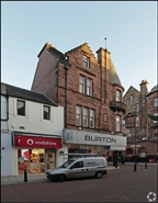 1,194 SF High Street Shop for Rent  |  86 - 88 High Street, Falkirk, FK1 1DD
