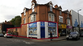 1,298 SF High Street Shop for Rent  |  218 High Street, Erdington, B23 6SJ