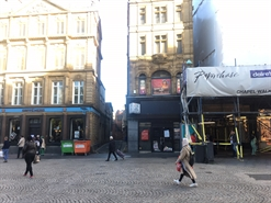 904 SF High Street Shop for Rent  |  9 Fargate, Sheffield, S1 2HD