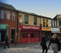 828 SF High Street Shop for Rent  |  67 Taff Street, Pontypridd, CF37 4TD