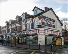 1,647 SF High Street Shop for Rent  |  574 Bearwood Road, Smethwick, B66 4BW