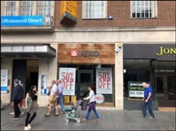 968 SF High Street Shop for Rent  |  237 High, Exeter, EX4 3NZ