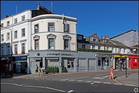 1,215 SF High Street Shop for Rent  |  36 Gloucester Road, London, SW7 4QT