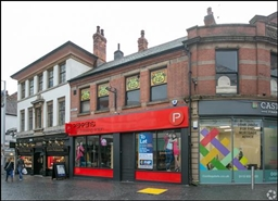 1,935 SF High Street Shop for Rent  |  3 - 5 Forman Street, Nottingham, NG1 4AA