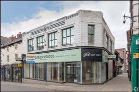 931 SF High Street Shop for Rent  |  9-9B Packers Row, Chesterfield, S40 1RB