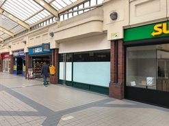 1,019 SF Shopping Centre Unit for Rent  |  Unit 14, College Walk, Rotherham, S60 1QB