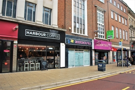 1,088 SF High Street Shop for Rent  |  99 Commercial Road, Portsmouth, PO1 1BQ