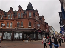 1,609 SF High Street Shop for Rent  |  1 Westgate Street / 1-6 Cornhill, Ipswich, IP1 3DR