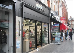 916 SF High Street Shop for Rent  |  12 Electric, London, SW9 8JX
