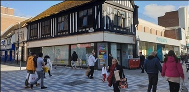 708 SF High Street Shop for Rent  |  66 Week Street, Maidstone, ME14 1RR
