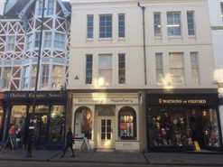 965 SF High Street Shop for Rent  |  8 Broad Street, Oxford, OX1 3AJ
