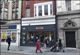 947 SF High Street Shop for Rent  |  57 High Street, Exeter, EX4 3DJ