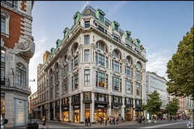 1,974 SF High Street Shop for Rent  |  Mappin House, London, W1D 1NG