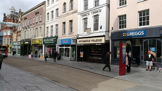 1,585 SF High Street Shop for Rent  |  High Street, Exeter, EX4 3HP