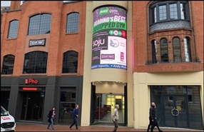 883 SF Shopping Centre Unit for Rent  |  Unit 8, Reading, RG1 2HG