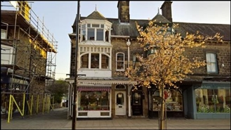 200 SF High Street Shop for Rent  |  8 The Grove, Ilkley, LS29 9EG