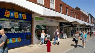 790 SF High Street Shop for Rent  |  101 High Street, Bromsgrove, B61 8AE