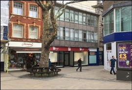 882 SF High Street Shop for Rent  |  3 - 5 Orford Place, Norwich, NR1 3RU