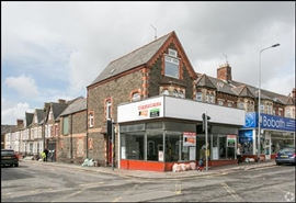 1,076 SF High Street Shop for Rent  |  111 - 117 Crwys Road, Cardiff, CF24 4NG