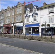 631 SF High Street Shop for Rent  |  23 Market Jew Street, Penzance, TR18 2HR