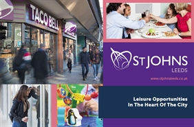 Shopping Centre Unit for Rent  |  Leisure Opportunities - St John's Shopping Centre, Leeds, LS2 8LQ