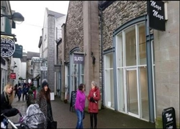 626 SF Shopping Centre Unit for Rent  |  6 Wainwrights Yard, Kendal, LA9 4DP