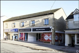 4,052 SF High Street Shop for Rent  |  45 Cricklade Street, Cirencester, GL7 1HY