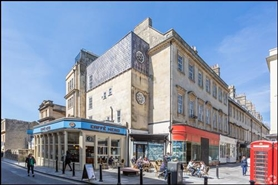 976 SF High Street Shop for Rent  |  12 Old Bond Street, Bath, BA1 1BP