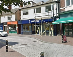 623 SF High Street Shop for Rent  |  1st Floor, 47 Market Place, Cannock, WS11 1BP