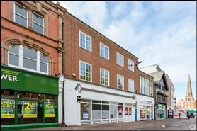 2,436 SF High Street Shop for Rent  |  14 - 15A St Peters Street, Hereford, HR1 2LE