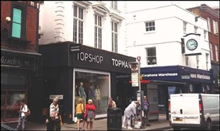 3,005 SF High Street Shop for Rent  |  54 George Street, Richmond, TW9 1HJ