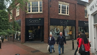 2,350 SF High Street Shop for Rent  |  Unit 34, Castle Walk, Newcastle under Lyme, ST5 1AN