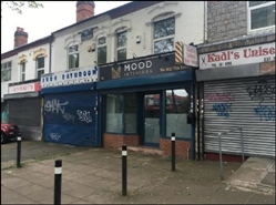 878 SF High Street Shop for Sale  |  116 Yardley Road, Birmingham, B27 6LG