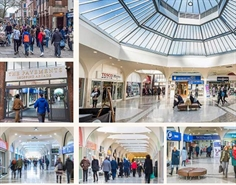 1,000 SF Shopping Centre Unit for Rent  |  57 Low Pavement, The Pavements Shopping Centre, Chesterfield, S40 1PB