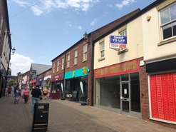 1,262 SF High Street Shop for Rent  |  Unit 24, Castle Walk, Newcastle under Lyme, ST5 1AN