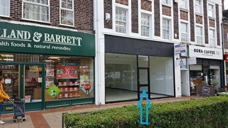 809 SF High Street Shop for Rent  |  217 Stratford Road, Shirley, B90 3AH
