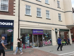 900 SF High Street Shop for Rent  |  Unit 33a, 6a Commercial Street, Hereford, HR1 2DA
