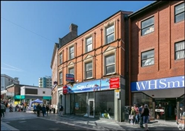 839 SF High Street Shop for Rent  |  4 Taff Street, Pontypridd, CF37 4UX