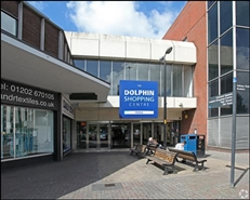 706 SF Shopping Centre Unit for Rent  |  Unit 42-43, Dolphin Shoping Centre, Poole, BH15 1SU