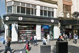 995 SF High Street Shop for Rent  |  5-6 Coventry Street, London, W1D 6BW
