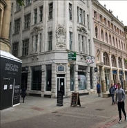 1,273 SF High Street Shop for Rent  |  13-15 St. Anns Square, Manchester, M2 7EF