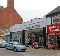 2,253 SF High Street Shop for Rent  |  47 - 49 High Street, Rushden, NN10 0QE