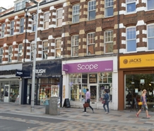 820 SF High Street Shop for Rent  |  69 St. John's Road, Clapham Junction, SW11 1QX
