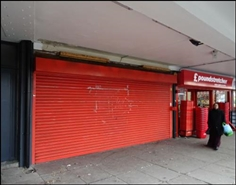 599 SF High Street Shop for Rent  |  Unit 1a, Birmingham, B27 6BL