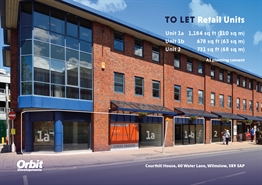 2,620 SF High Street Shop for Rent  |  Units 1 & 2, Wilmslow, SK9 5AP