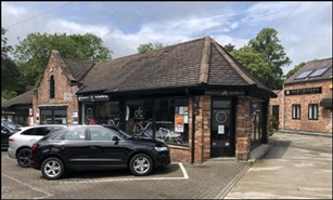 742 SF High Street Shop for Rent  |  Brook Garage, Macclesfield, SK10 4AL