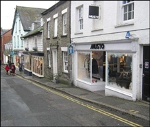 440 SF High Street Shop for Rent  |  17 Duke Street, Padstow, PL28 8AB